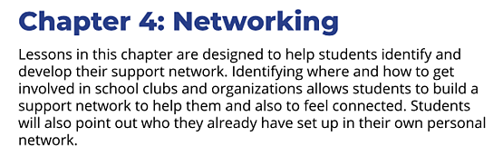 Networking chapter summary