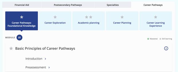 Basic Principles of Career Pathways