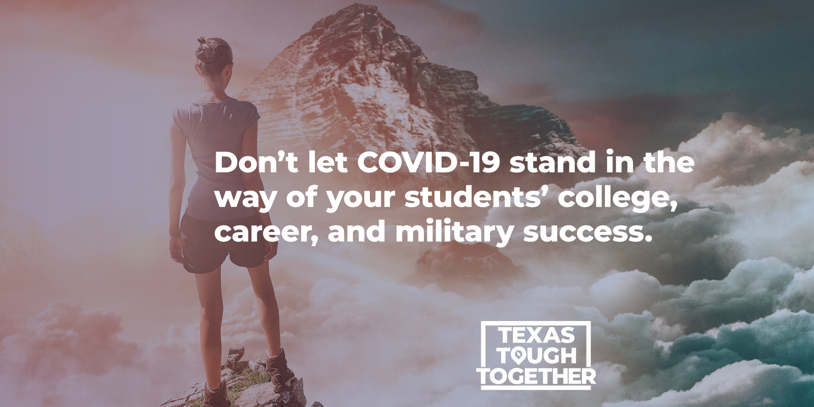 Don't let COVID-19 stand in the way of your students' college, career, and military success.