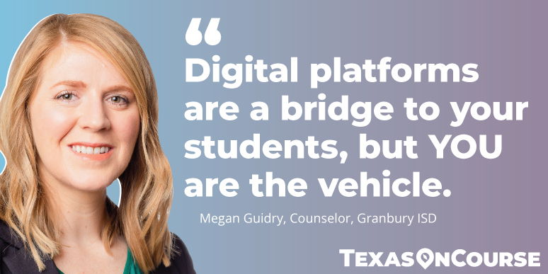 Digital platforms are a bridge to students, but YOU are the vehicle.
