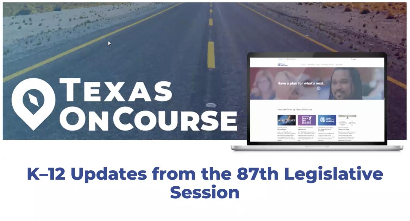 K-12 Updates from 87th Legislative Session