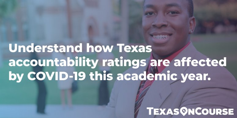 Understand how Texas accountability ratings are affected by COVID-19 this academic year.