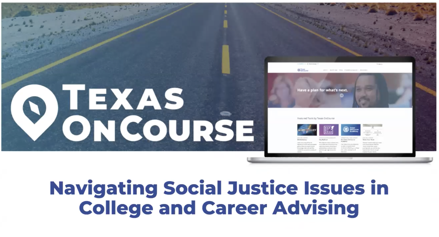 Navigating Social Justice Issues in College and Career Advising