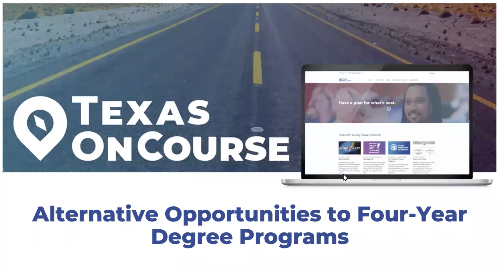 Alternative Opportunities to Four-Year Degree Programs